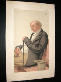 Vanity Fair Print 1881 Lord Blackburn, Legal